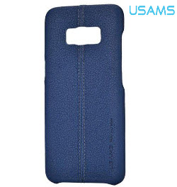 USAMS Joe Series Back Cover for Samsung S8 Blue