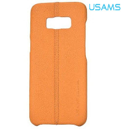 USAMS Joe Series Back Cover for Samsung S8 Light Brown