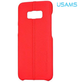 USAMS Joe Series Back Cover for Samsung S8 Red