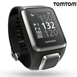 TomTom Golfer 2 GPS Smart Watch Black Large Straps