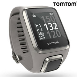 TomTom Golfer 2 GPS Smart Watch Grey Large Straps