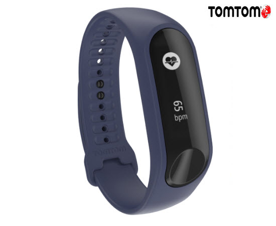 TomTom Touch Cardio Fitness Activity Tracker Large Purple