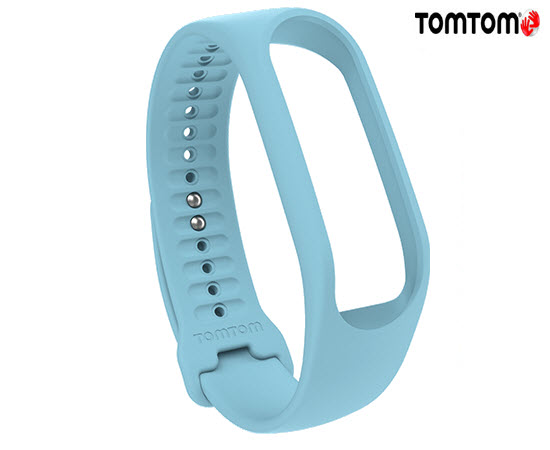 TomTom Touch Fitness Tracker Strap AZU Light Blue Large
