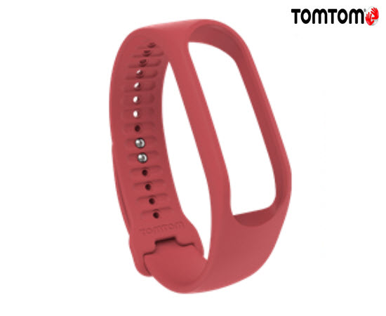 TomTom Touch Fitness Tracker Strap Coral Red Large