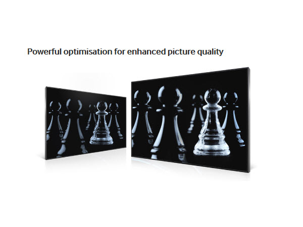 Powerful optimisation for enhanced picture quality