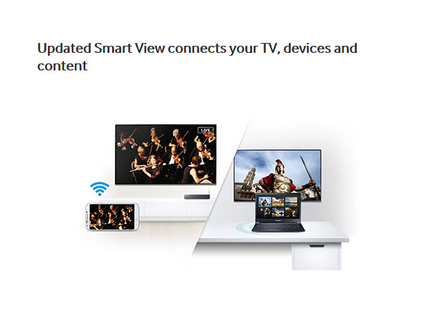 Updated Smart View connects your TV, devices and content