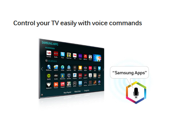 Control your TV easily with voice commands