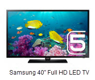"Samsung 5 Series H5100 40"" Full HD LED TV"
