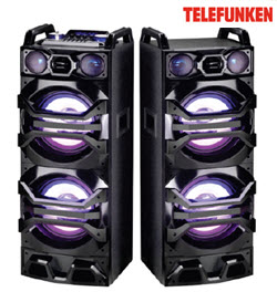 Telefunken TTS-400W HiFi DUal Tower Sound Bluetooth System