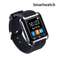 Smart Touch Screen Watch With Rubber Band