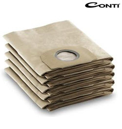 5PC Vacuum bags for Conti CWD-100C CSVC-12S Vacuum Cleaner