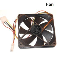 120mm Black Chassis Fan