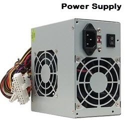 550W Power Supply with SATA Connectors