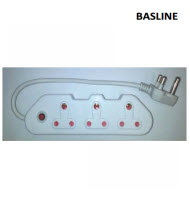 Baseline BL-MUP203 3 Way Multi Plug
