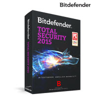 Bitdefender Total Security 2015 - 1 User