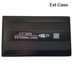 External 2.5 Inch SATA USB 2.0 Chassis Enclosure