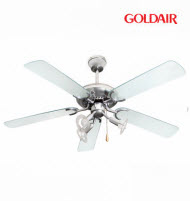 GoldAir DCF-305A 52in Deluxe 5 Blades 3 Chrome Lights Ceiling Fa