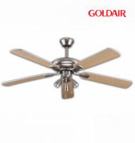 GoldAir GCF-525 52in Deluxe 5 Blades 3 Lights Ceiling Fan