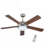 GoldAir GCF-5251R 52in 5 Blades 1 Lights Ceiling Fan Remote