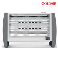 Goldair GBFH-1238 3 Glass Bar Heater with Humidifier & Fan