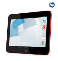 HP 3604ei Slate 10in Red WiFi HD Androind Tablet