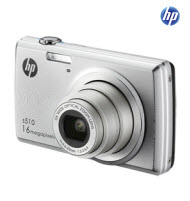 HP S510 16MP Digital Camera with 5x Optical Zoom