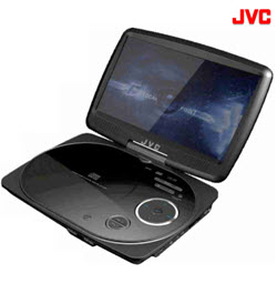 JVC XV-PY900 Portable DVD Player with LCD Display