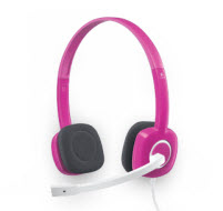 Logitech H150 Cranberry Stereo Headset