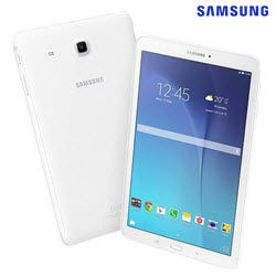 Samsung GALAXY TAB E 9.6in 8GB 3G White Tablet