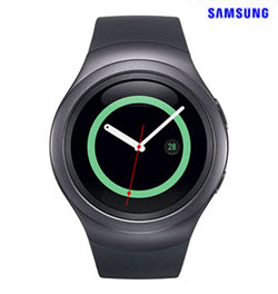Samsung Gear S2 SM-R720 Dark Gray Smart Watch