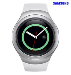 Samsung Gear S2 SM-R720 White Smart Watch