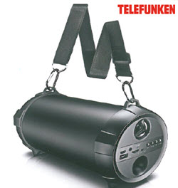 Telefunken THHS-111BT Hip Hop Portable Bluetooth Speaker