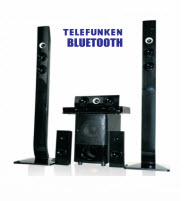 Telefunken THT-906 HDMI 5.1 Channel Tall Boy Home Theatre System