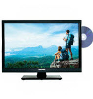 Telefunken TLED-24DVD 24 Inch FHD LED TV With Built In DVD Playe