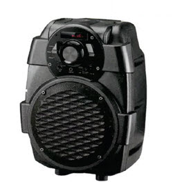 Telefunken TTS-5x2BT 5 Inch Trolley Speaker with  BT Remote MIC