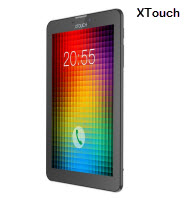 XTouch PF73 7in Black 3G Dual SIM Smart Tablet
