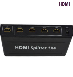 Ultra HD 4K 4 Way HDMI Splitter