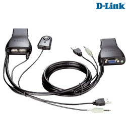 D-Link DKVM-222 2 Port USB KVM Switch