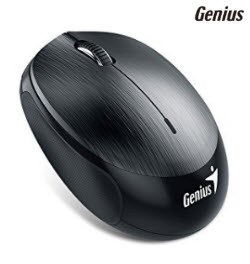Genius 9000R 2.4Ghz Micro Traveller Black Wireless Mouse