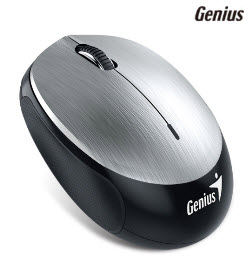 Genius 9000R 2.4Ghz Micro Traveller Silver Wireless Mouse