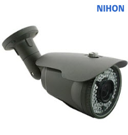 Nihon NIPG90NT 2MP 50M Bullet Camera Straight WDR