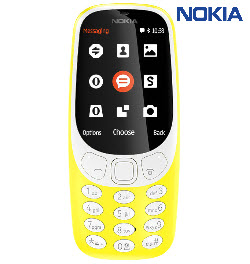 Nokia 3310 2017 Mobile Phone Yellow