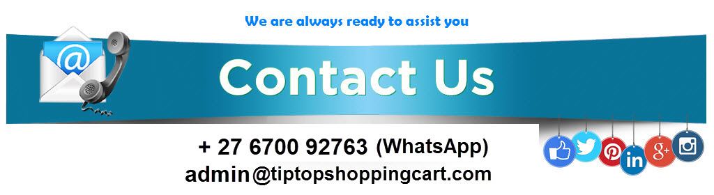 Tiptop Online shopping Store South Africa