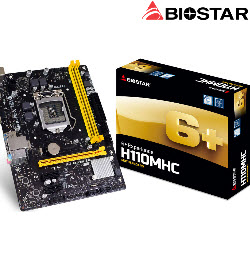 Biostar Intel H110MHC Socket 1151 Motherboard