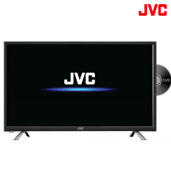 JVC LT-32ND35 32 Inch FHD LED TV With DVD Player